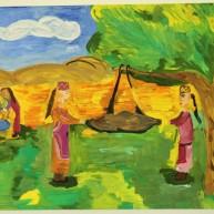 Ռուստամյան Անի` «Գյուղում»