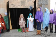 Սուրբ Ծննդյան Սրբազան արարողությունները Վայոց Ձորի թեմի եկեղեցիներում