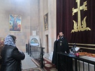 Արևագալի ժամերգություն Ջերմուկի Սբ. Գայանե եկեղեցում