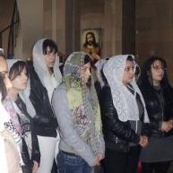 Կուսանանց տոնը Ջերմուկի Սբ. Գայանե եկեղեցում