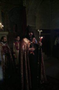 Հարության Ճրագալույցի Սբ. Պատարագ Եղեգնաձորի առաջնորդանիստ Սբ. Աստվածածին եկեղեցում