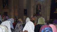 Ոտնլվայի արարողություն Ջերմուկի Սբ . Գայանե եկեղեցում