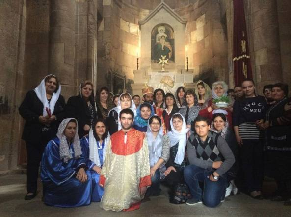 Հարության Սուրբ Պատարագ Սուրբ Նորավանքում