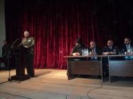Ոստիկանության օրվան նվիրված հանդիսավոր նիստ Եղեգնաձորում