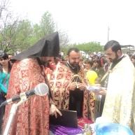 Եկեղեցու հիմնարկեքի օրհնության կարգ Ռինդ համայնքում
