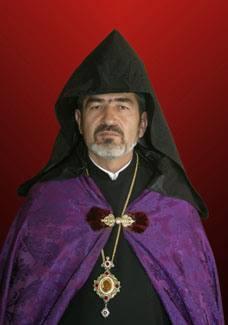 Վայոց ձորի թեմի առաջնորդ Տ. Աբրահամ արքեպիսկոպոս Մկրտչյան: