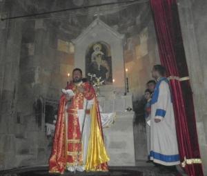 Վայոց Ձորի թեմի Փոխառաջնորդ  Տ. Զարեհ վարդապետ Կաբաղյան