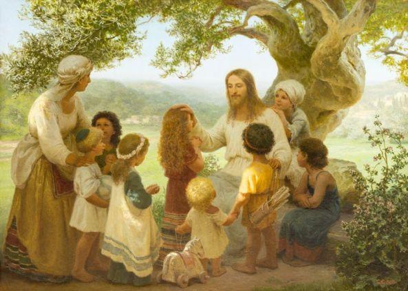 Հիսուս օրհնում է մանուկներին