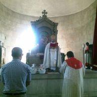 Սբ. Աստվածածնի Վերափոխման տոնը Վայքի Սբ. Տրդատ եկեղեցում