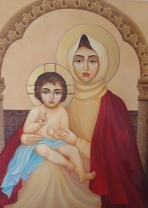 Լիանա Առաքելյանը Սբ. Աստվածածնի յուղանկար պատկեր է նվիրել  Եղեգնաձորի Սբ. Աստվածածին եկեղեցուն