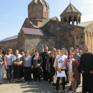 Ջերմուկի Սուրբ Գայանե եկեղեցուց ուխտագնացություն կազմակերպվեց դեպի Արագածոտնի թեմի հինավուրց սրբավայրեր