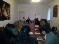 «ԱՋԱԿԻՑ» հոգեբանական ակումբի հերթական հանդիպումը