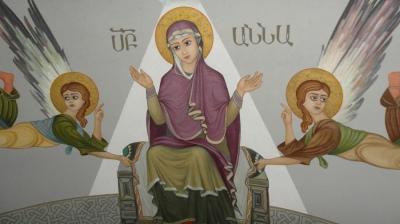 Ս. Աննայի հղիությունը Սուրբ Մարիամ Աստվածածնով