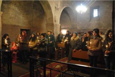 Հոգեհանգստյան արարողություն Եղեգնաձորի Սուրբ Աստվածածին եկեղեցում