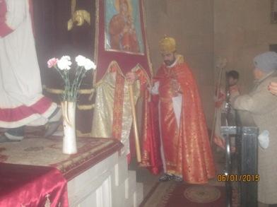 Ս. Ծննդյան և Աստվածահայտնության տոները Ջերմուկի Ս. Գայանե եկեղեցում