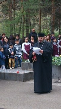 Հայոց ցեղասպանության սուրբ նահատակների ոգեկոչման արարողություններ Վայք քաղաքում