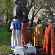 Հայոց Մեծ եղեռնի նահատակների հիշատակին կանգնեցված խաչքարերի օրհնություն Վայոց ձորի մարզում
