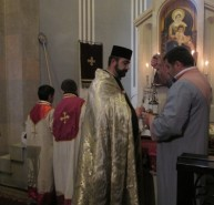 Մեծ եղեռնի նահատակների հիշատակի Սրբ. Պատարագ Ջերմուկի Սրբ. Գայանե եկեղեցում