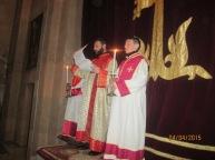 Սուրբ Զատկի նախատոնակը Ջերմուկում