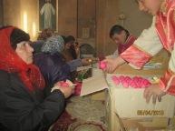 Սուրբ Զատիկի՝ Քրիստոսի Հարության տոնը Ջերմուկի Սուրբ Գայանե եկեղեցում