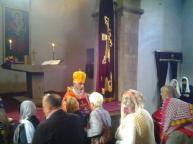 Երևման Սուրբ Խաչի տոնը Արկազի Սուրբ Խաչ վանքում