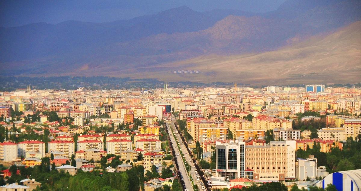 Արևմտյան Հայաստանի Վան քաղաքը