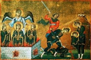 Այսօր Դանիել մարգարեի և Սեդրակ, Միսաք, Աբեդնագով երեք մանուկների հիշատակության օրն է
