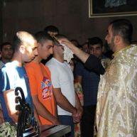 Նորակոչիկների օրհնության արարողություն Ջերմուկի Սբ. Գայանե եկեղեցում և Վայքի զինկոմիսարիատում
