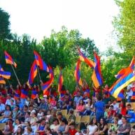 Համահայկական ամառային 6-րդ խաղերի ջահի դիմավորման հանդիսություն Եղեգնաձորի ամֆիթատրոնում