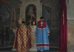 Տիրոջ Պայծառակերպության տոնը Եղեգնաձորի Սբ. Աստվածածինեկեղեցում