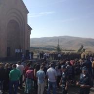 Զինվորական երդման հանդիսավոր արարողություն Ջերմուկի Սբ. Գայանե եկեղեցում