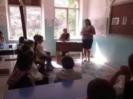 Մյուռոնօրհնությանը նվիրված դաս Հերմոնի հիմն. դպրոցում