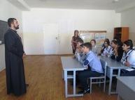 «Սրբալույս Մյուռոն» թեմայով բանախոսություն Գնդեվազի միջն. դպրոցում