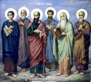 Այսօր Սբ. առաքյալներ Անանիայի, Մատաթիայի, Բառնաբասի, Փիլիպպոսի, Հովհաննեսի և Շիղայի` Սիղվանոսի հիշատակության օրն է