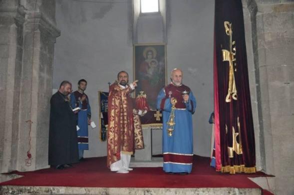 Խաչի Գյուտի տոնը Արկազի Սուրբ Խաչ վանքում