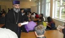 Այնուհետև Աստվածաշնչյան մեկնություններով հանդես եկավ Հայաստանի Աստվածաշնչային ընկերության ծրագրերի պատասխանատու պրն. Արշավիր Գաբուջյանը, ապա հրավիրեց Սրբազան Հորը՝ իր օրհնության խոսքը հղելու ներկաներին: