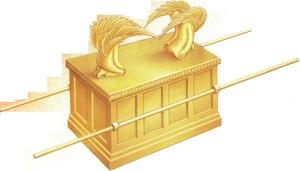 Ուխտի տապանակը, որտեղ պահվում էին  Տասը Պատվիրանների տախտակները