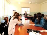 «Մի′ սպանիր» ծրագրի շրջանակներում հանդիպում ՀՊՏՀ Եղեգնաձորի մասնաճյուղում