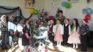 Ամանորյա տոնական միջոցառում Մալիշկայի թիվ 1 միջն. դպրոցում