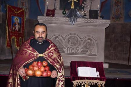 Եղեգնաձորի Սուրբ Աստվածածին եկեղեցում