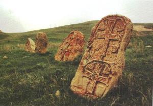 Բազմախաչ խաչքարեր, 9-10-րդ դարեր, Գնիշիկ: