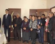 Բնակարանամուտ և տնօրհնեք Շատին համայնքում