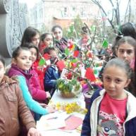 Զատկի տոնին նվիրված միջոցառում Եղեգնաձորի Սբ. Աստվածածին եկեղեցում