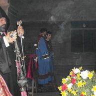 Ավագ ուրբաթ օրվա արարողությունները Եղեգնաձորի առաջնորդանիստ Սբ. Աստվածածին եկեղեցում