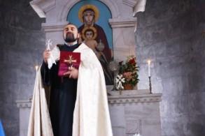 Զատկական տոնակատարություն Մալիշկայի Սբ. Աննա եկեղեցում
