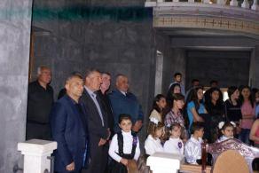 Մեծ եղեռնի ոգեկոչման արարողություններ Մալիշկայի Սուրբ Աննա եկեղեցում