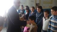 Դպրոցի օրհնության արարողակարգ սահմանամերձ Գոմք գյուղում