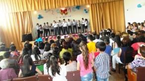 Վերջինզանգի միջոցառում Մալիշկայի թիվ 1 միջն. դպրոցում