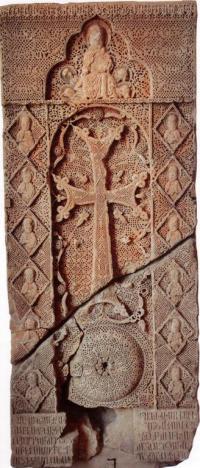 Մոմիկի 1308թ. խաչքարը: