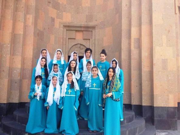 Ջերմուկի Սուրբ Գայանե եկեղեցու երգչախումբը